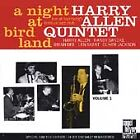 NEW SEALED A Night at Birdland Vol 1 [Limited ED] Harry Allen Quintet CD JZ1333