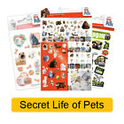 SECRET LIFE OF PETS - Colouring Stickers Books Pads Sheets Kids Party Xmas Gift