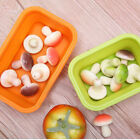 Foldable Silicone Home Travel Lunch Box Food Storage Container Picnic Portable