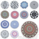 Vintage Round Mandala Indian Hippie Boho Tapestry Picnic Throw Towel Mat Blanket