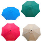 New Market Patio Umbrella Replacement Canopy Canvas Cover 10ft Color-Option