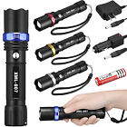 Tactical Police 10000Lumen CREE XM-L T6 LED 5Modes Flashlight Aluminum Torch USA