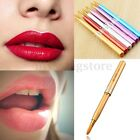 5/10Pcs Random Alloy Retractable Cosmetic Lip Brush MakeUp Gloss Lipstick Tool