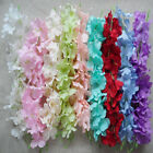 Wholesale Bridal headdress wreath material Wedding simulation hydrangea 9 colors