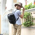 Genuine Leather Travel Hiking Backpacks Tote Messenger Luggage Bag Multifunction