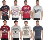 Pierre Roche Plus Mens Printed Cotton Short Sleeve T-Shirt