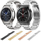 Premium Gear s3 classic frontier smartwatch strap Stainless Steel Band with Clip