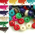 30g(Approx 800pcs) Loose Round Wood Spacer Beads 3x4mm Jewelry Findings DIY