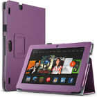Folio Case PU Leather Cover Stand Skin for Amazon Kindle Fire HDX 8.9 2013