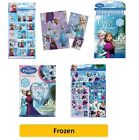 DISNEY FROZEN - Colouring Stickers Activity Books Pads Sheets Kids Party Xmas