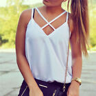 Summer White Girls Vest Tops Fashion Sleeveless Blouse Casual Tank Tops T-Shirt