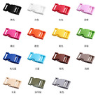Variety Color Plastic Buckle Buckle Bracelet Backpack Fitting Paracord Bracelets