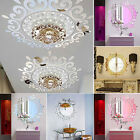3d Feather Mirror Wall Sticker Home Room Decal Mural Art Diy Decor Removable