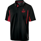 Roto Grip Mens Cell Performance Polo Bowling Shirt Dri-Fit Red Scarlet