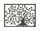 Benzara Stunning Metal Outdoor Tree Wall Plaque