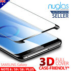 NUGLAS Full Cover Tempered Glass Screen Protector For Samsung Galaxy S8/S8 Plus