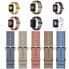 100% Original Apple Woven Nylon Strap Watch Case 38MM 42mm All Colours