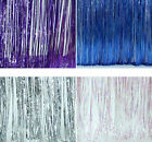 Home Decor Shimmer Foil Glitter Tinsel Metallic Backdrop Curtain Party Decor