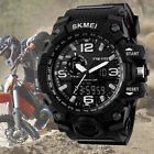 SKMEI Men's LED Digital Alarm Date Military Sports Army Waterproof Quartz Watch