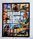 LOT OF 25 GRAND THEFT AUTO V FIVE 5 DOUBLE SIDED POSTERS PROMOTIONAL 46325-7PST
