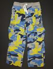 Mini Boden boys Vintage Zip Off techno cargo pants camouflage camo shorts fun 6Y