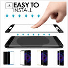 US Samsung Galaxy S8 /S8 Plus Shockproof Tempered Glass Screen Protector 5 Color
