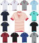 Men's Cotton Tee hit color Polo Golf Running Sports T-shirt EU SIZE 48-58