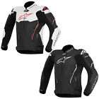 New Alpinestars Motorcycle Bike Atem Longsleeve Riding Leather Jacket Size 48-60