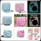 New Colour Case Protector Silicone Leather Cover Fujifilm Fuji Film Instax Mini8