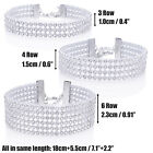 Women Lady Full Diamante Crystal Choker Necklace Bracelet Set Wedding For Women  <br/> Buy 1 Get 1 at 40% off-No Limit-UK Seller-Fast Delivery