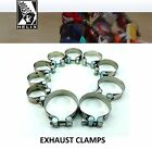Helix Racing Products Stainless Exhaust Muffler Clamps  Victory Motorcycle