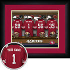 "NFL Framed Personalized Locker Room Football Sports Memorabilia Decor 15""x18"""