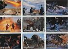 Starship Troopers The Movie Complete Bug Wars Chase Card Set BW1-9