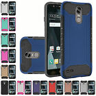 For LG Stylo 3 Stylo 3 Plus Shockproof Armor QH Dual Layer Hybrid Cover Case