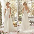 New Stylish Women Sexy V Neck Backless Beaded Lace Patchwork Chiffon EN24H01