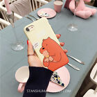 Sweet We Bare Bears ice Cream Soft bumper Case Cover For iPhone 7 7Plus 6s Plus
