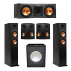 Klipsch 5.1 System with 2 RP-250F Tower Speakers, 1 RP-250C Center Speaker, 2 Kl