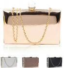 LeahWard Women's Hard Case Clutch Evening Party Prom Bags Handbags For Wedding D
