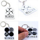 New BTS Keychain Bangtan Boys Wings You Never Walk Alone Keyring For ARMY Gift