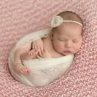 Yarn Gauze Newborn Baby Photography Photo Props Stretch Baby Wraps Blanket - LD