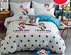 2017 New Paul Frank Bedding Set 4pc Queen King Size RARE