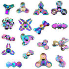 Multicolor Rainbow Spinner Hand Fidget Toy EDC Spinner Autism ADHD Gyro Pretty
