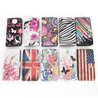 Classic Flower Flip PU Leather Wallet Stand Case Cover For Samsung Galaxy S3 JR