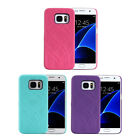 For Samsung Galaxy S7 Edge Hidden Back Mirror Case Stand and Card Holder JR