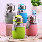 400ml Water Glass Bottle Sports Travel Mug Outdoor Drinking Cup with Tea Infuser