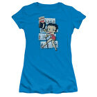 Betty Boop Comic Strip Juniors Short Sleeve Shirt $24.95 USD