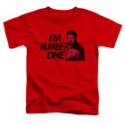 Star Trek Im Number One Little Boys Toddler Shirt RED