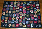 CAT'S PAWS & WHISKERS  Primitive Rug Hooking kit  on monks cloth