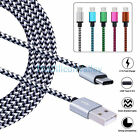 Lots USB Type C Data Charger Charging Cable Cord for Samsung S8/S8 Plus LG G6 G5