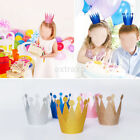 birthday party accessories for adults - Birthday Crown Flower Tiara Headband for Kids Adult Party Hair Bands Accessories